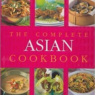 日本とアジアの料理本5冊