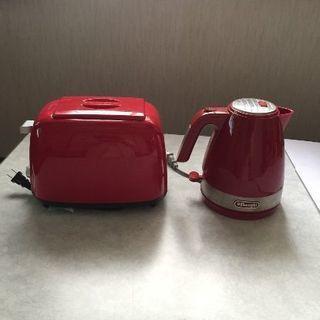 【美品】トースター、電池ケトル
