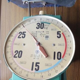 ★☆彡 30キロ 計量 量 はかり 宅配便 宅急便対応 30キロです。