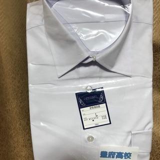 男子学生服(夏服) 3枚大分豊府高校夏服シャツ