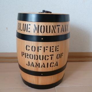 コーヒー豆樽型 密封容器