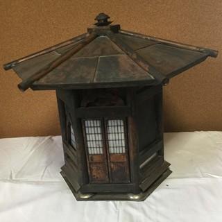 手造り 銅燈篭