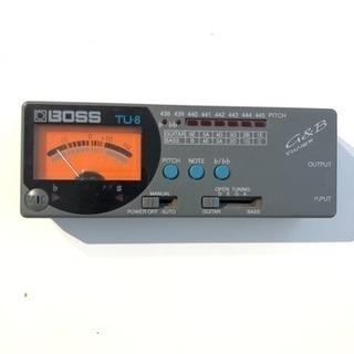BOSS チューナー TU-8 ギター ベース