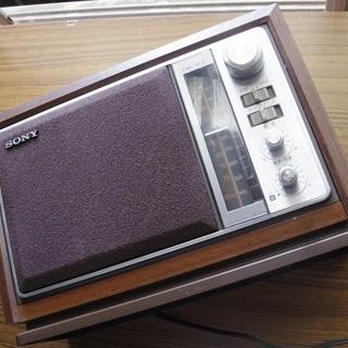 ICF-9740 FM/AM 2バンドホームラジオ 昭和 レトロ