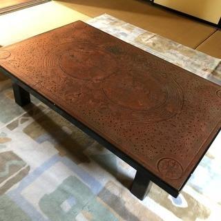 銅板 座卓