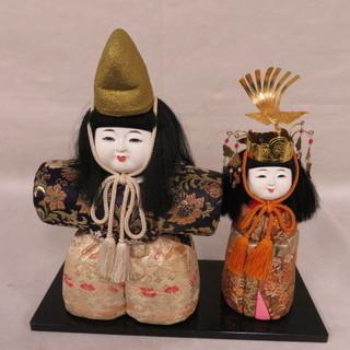 ひな人形 立雛 時代雛 木目込人形 郷土玩具 伝統工芸 時代物
