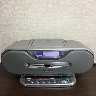 Panasonic MD CDラジカセ