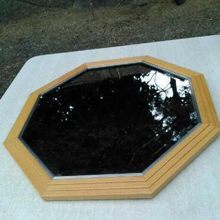 八角 鏡 ビーチ - 家具