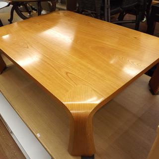 天童木工 座卓 ローテーブル 曲木 天然木合板 札幌 西岡店