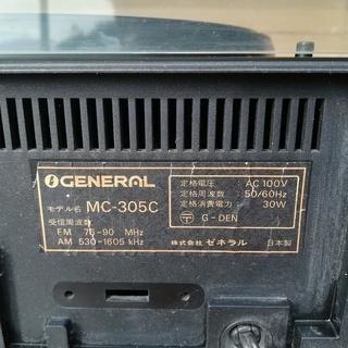 【レコードプレーヤー】ゼネラル MC-305C ジャンク - 売ります・あげます