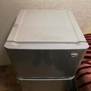 【あげます】冷蔵庫 ハイアール〈JR-N106K〉106L - 家電