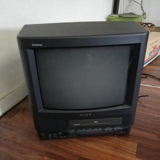 希少品!ソニーのテレビ一体型テレビデオ無料です。