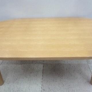 無印良品 こたつ 楕円 ローテーブル 志木 配達可★の画像