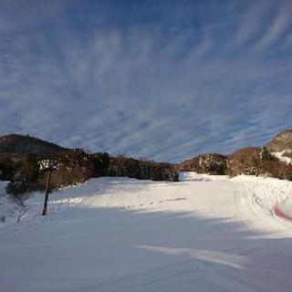 スノーボードを滑りたい人募集