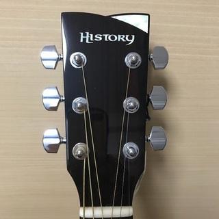 ★☆【半額以下・ほぼ未使用品】島村楽器 HISTORY(ヒストリー)アコースティックギター(PU搭載) NT-C3☆★ - 売ります・あげます
