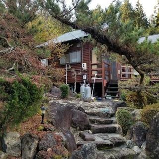 温泉露天風呂付き別荘
