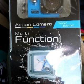 アクション防水カメラ 未開封