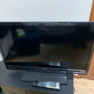 32インチテレビ AQUOS シャープ
