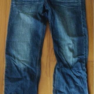 刺繍メンズジーンズ