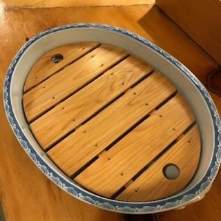 有田焼 すのこ付き盛り皿