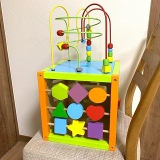 マルチアクティビティキューブ  知育玩具