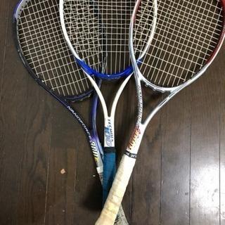 ソフトテニス ラケット3本セット