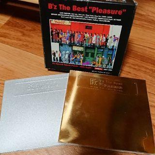 B'zアルバム「pleasure」「treasure」初回限定版