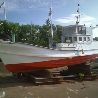 漁船 ヤンマーエンジン 釣り好きな方に
