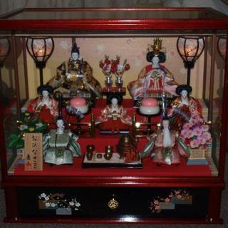 慶山作 雛人形ケース飾り(美品・中古)・商談中