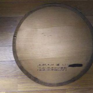 古い寿司桶