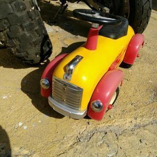 アメリカン雑貨 乗り物玩具 手押し車 展示品