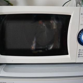 電子レンジSHARP RE-TX1-W5 美品 50Hz学生 社...