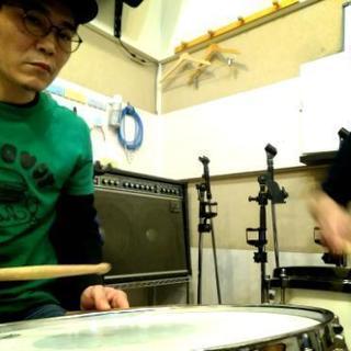 大阪市(難波、四つ橋、心斎橋にあるリハーサルスタジオでドラムレッスン♪