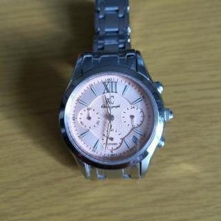 XC 腕時計 シャンパンピンク
