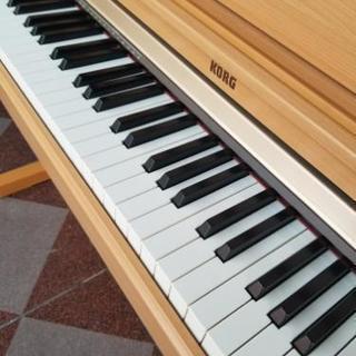 今月迄!直接取り引き希望 最終値下げ!【KORG C-2200 2003年製 】USED 格安 電子ピアノ  譜面台 木目 ペダル 練習 ライブ コルテック 中古品 動作確認済み - 売ります・あげます