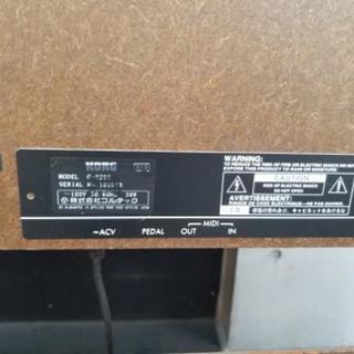今月迄!直接取り引き希望 最終値下げ!【KORG C-2200 2003年製 】USED 格安 電子ピアノ  譜面台 木目 ペダル 練習 ライブ コルテック 中古品 動作確認済み - 家具