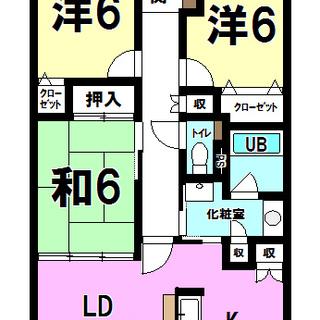 【中古マンション】ダイアパレス文理大南弐番館10階 3LDK