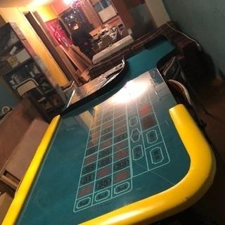 本格カジノ ルーレットテーブル