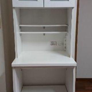 ニトリ 食器棚 レンジボード クリスナ60RB
