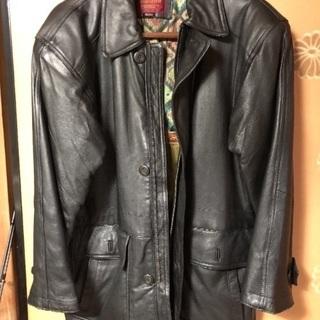 羊革ジャケットコート