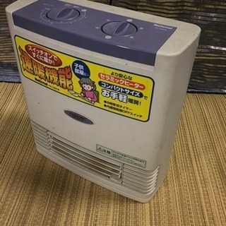 ナショナル電気ファンヒーター
