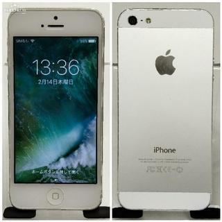 SB版 iPhone 5 32GB Silver 美品 A1429