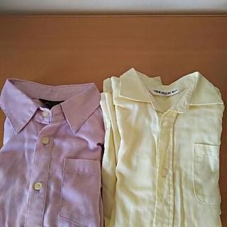 長袖シャツ 2枚  130