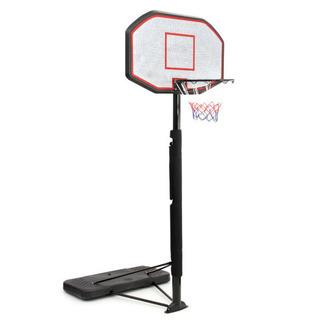 【未使用】バスケットゴール 屋外移動式 ポールクッション付き 8...