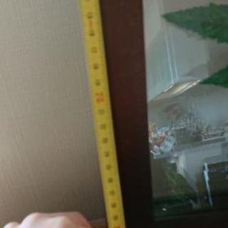 リゾート風 額 壁飾り インテリア②(再値下げしました) 約33cm×49cm - 売ります・あげます