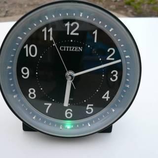 シチズン サイレントミグ646  夜間自動点灯 めざまし時計 8R...