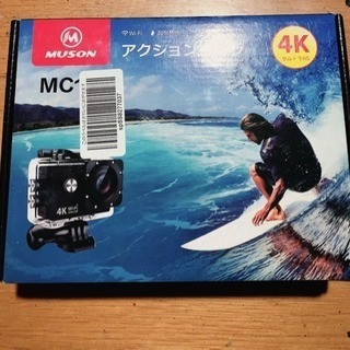 MUSON アクションカメラ 4K 防水 2インチ液晶画面 Wi...