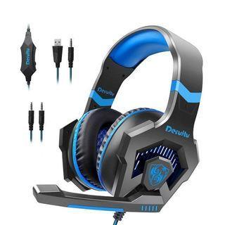 ゲーミング ヘッドセット高音質ステレオ PS4