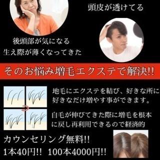 【増毛エクステ200本5000円】