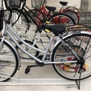 自転車 使用頻度少なめ